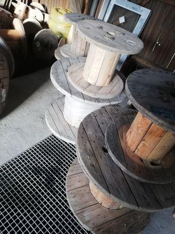 Szpula drewniana bęben drewoniany po kablach