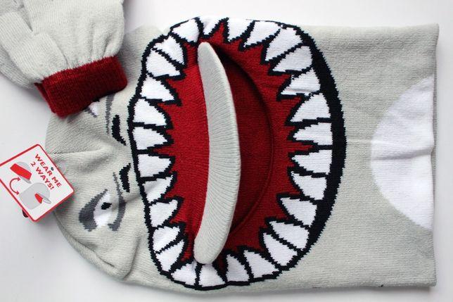 Комплект прикольный шлем балаклава и перчатки