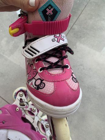 Роликовые коньки explore activa pink 5387