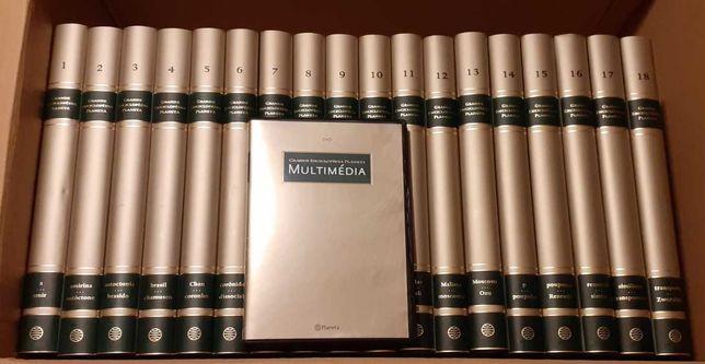 Grande Enciclopédia Planeta, 18 volumes (2007)