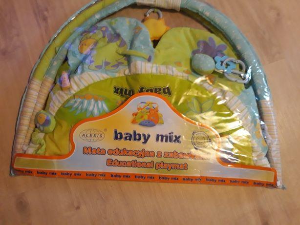 Mata do zabawy baby mix