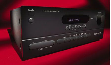 A/V ресивер NAD T753