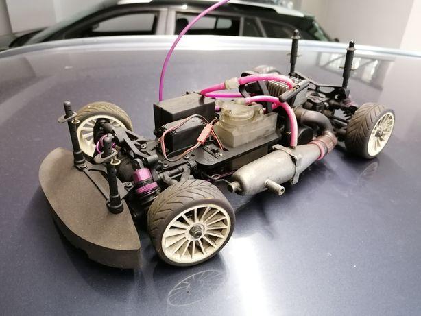 Carrinho Telecomandado Gasolina Gs Racing Vision Rtr 1:10
