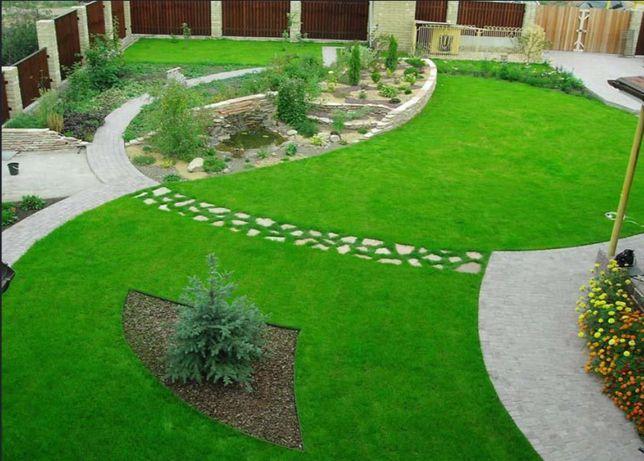 Trawa z rolki - piękny trawnik w jeden dzień -trawnik rolowany PREMIUM