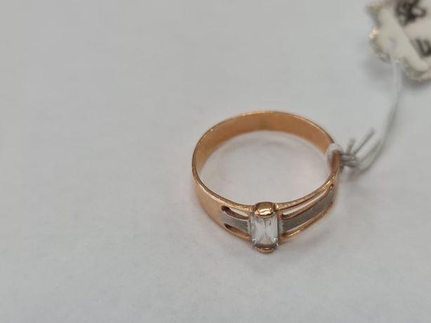 Retro! Klasyczny złoty pierścionek damski/ 585/ 1.96 gram R14