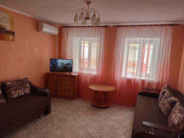 комнаты посуточно у моря, дом у моря, аренда жилья Новая Дофиновка