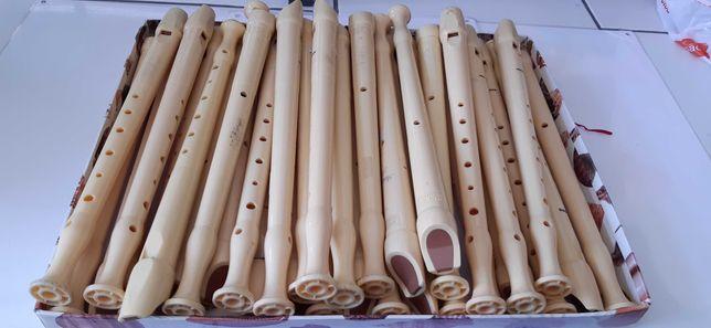 Flautas usadas em bom estado