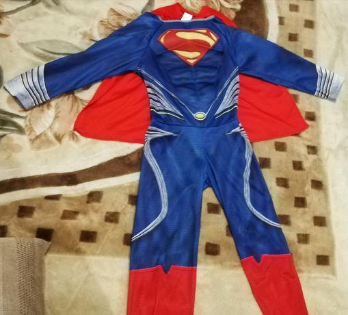 Superman костюм карнавальный для мальчика