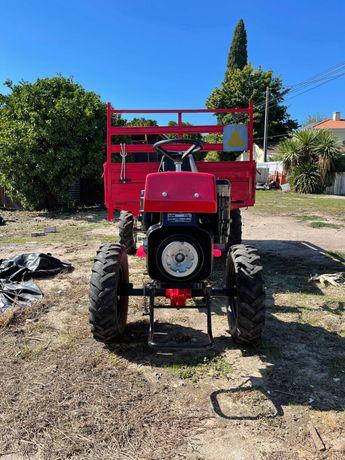 Trator - Motoenxada - Motocultivador Diesel