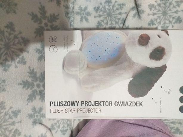 Pluszowy projektor gwiazdek