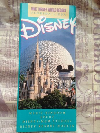 Проспект: Діснейленд (Walt Disney World Resort) у Флориді на англ.мові