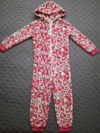 Kombinezon pajac 110-116 piżama