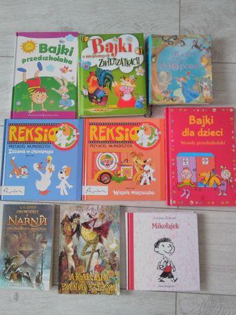 Książeczki dla dzieci oraz lektury szkolne.