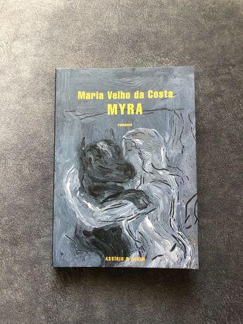 Livro Myra da Maria Velho da Costa