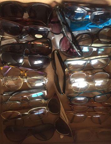 Grande lote de óculos vintage