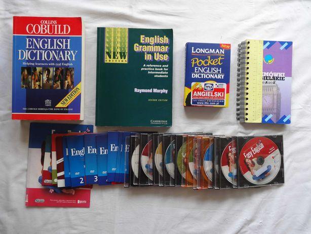 Angielski nauka English Dictionary Grammar książka płyta komplet