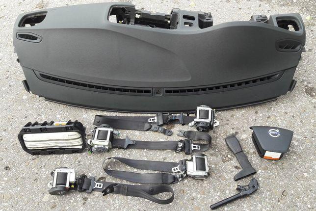 Volvo c60 airbags cintos tablier