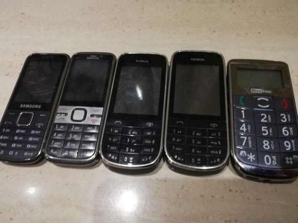 Telefony Nokia, Samsung, max com sprawne