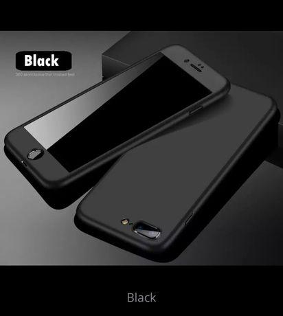 Чехол на айфон 7 с захисним склом