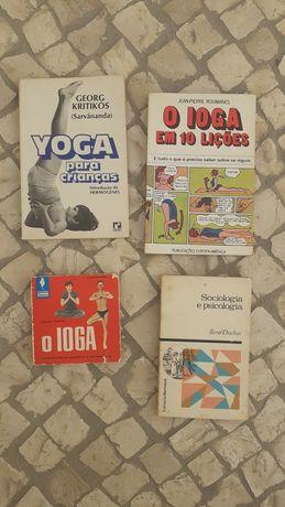 Coleção de livros Yoga