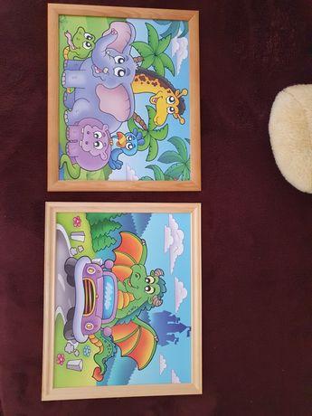 Obrazki 2 sztuki