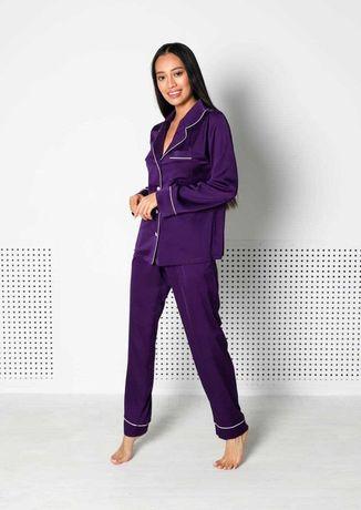 Шелковая пижама домашний костюм