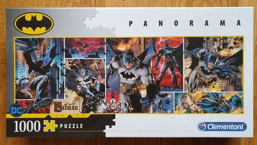 Clementoni puzzle 1000 Batman Panorama. Nowe! Warszawa - image 1