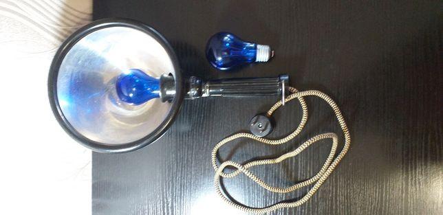 Синяя лампа + лампочка