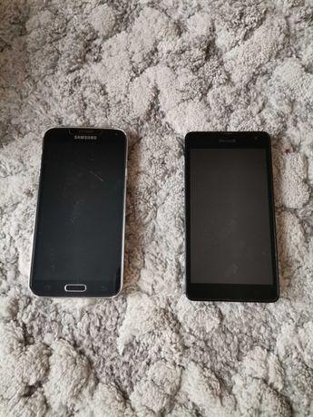 Telefony Samsung i Microsoft