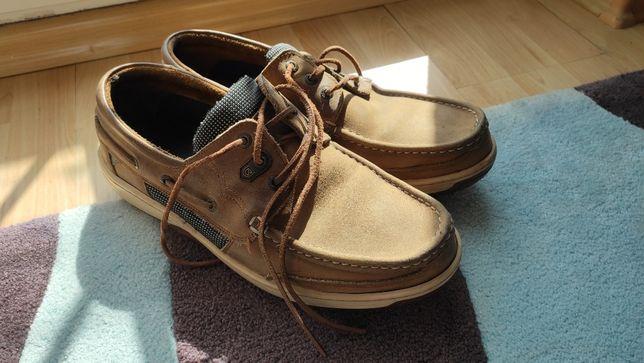 Mokasyny żeglarskie Dubarry buty skórzane męskie r45
