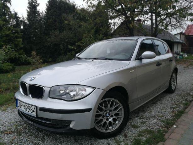BMW 1 2.0D 122KM, 6 biegów, Nawigacja, Kamera, 2005r.Zamiana na X3,X5