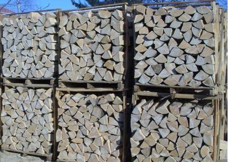Suche sezonowane drewno kominkowe