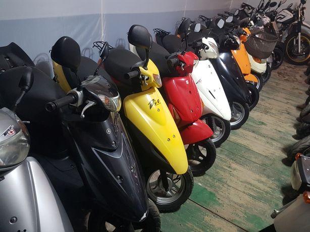 Скутер из Японии suzuki lets