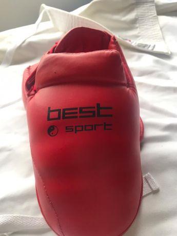 Перчатки (накладки) для каратэ best sport