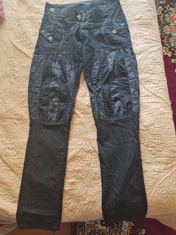 Черные джинсы галифе Raw