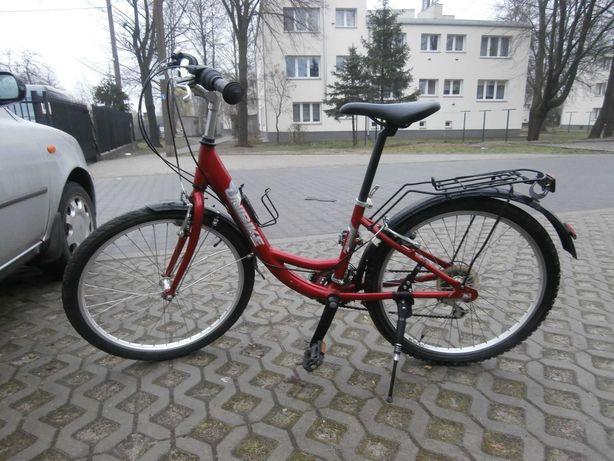 """Rower Damka Unibike - Princes Koła 24 """" Przyzwoity Stan"""