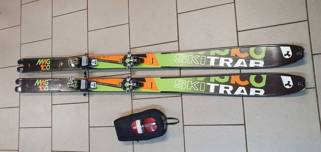 Narty skiturowe skitrab magico 178cm+ wiazania dynafit + foki