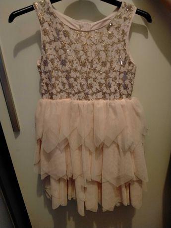 sukienka dla dziewczynki 140