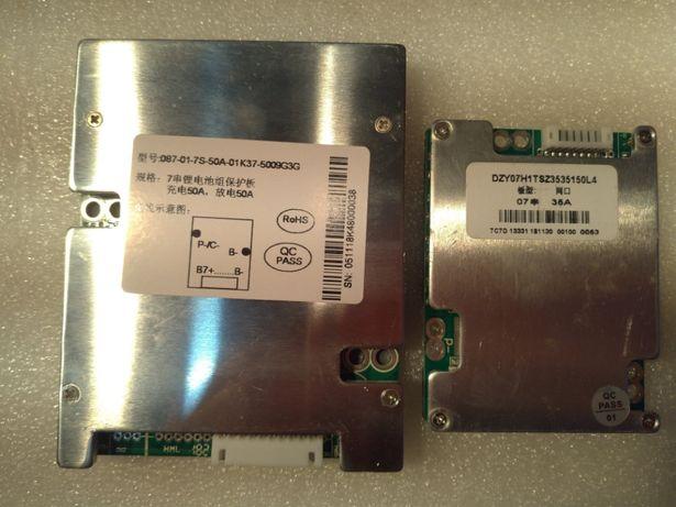 BMS 24V (7s) 35A/50A Li-ion bateria 3.7v (4.2v)