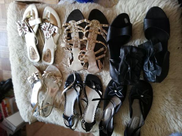 Buty damskie 39,40 nowe i prawie nowe