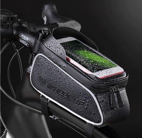 Велосумка для смартфона на раму, вело сумка для телефона WheelUp