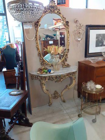 Вінтажна Консоль з дзеркалом барокко