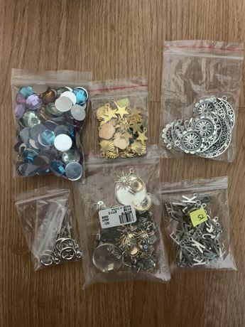 Pendentes  / corrente / fechos (Material para bijuteria)