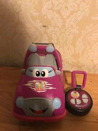 Машинка да пульте Chicco для девочек