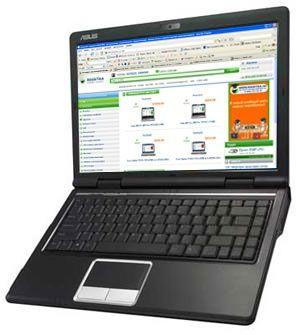 Ноутбук ASUS F80L в идеальном состоянии