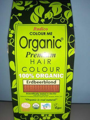 RADICO Henna Ekologiczna do włosów Truskawkowy blond 100g
