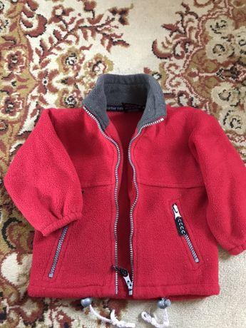 Куртка, кофта флисовая 80-86