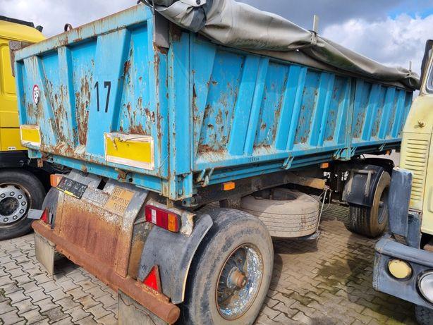 Przyczepa rolnicza czeska bss ps3 18 ton panav Brandys 3 stronna