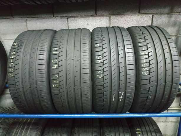 Літні шини 235/45 R17 CONTINENTAL