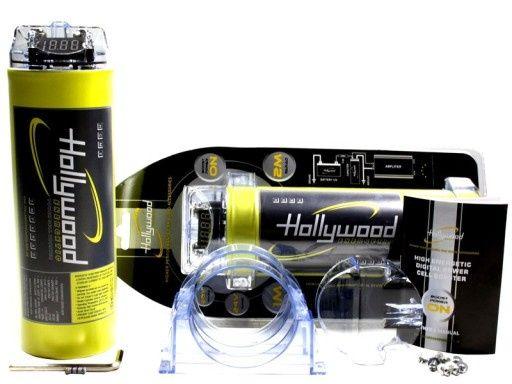 Kondensator Hollywood HCM-1 z LCD 1 Farad do 600W Bas Audio Skrzyszów
